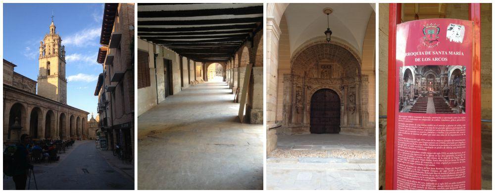 Church De Santa Maria De Los Arcos