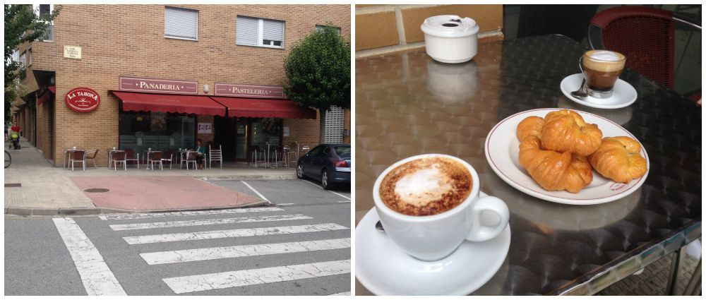 Coffee from La Tahona in Los Olmos on the Camino 2015