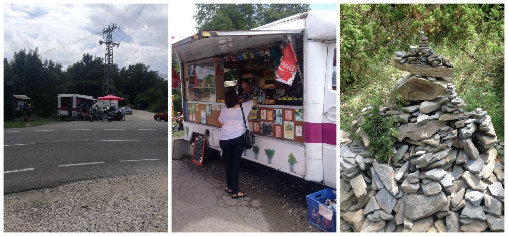 Erro at the peak on the Camino way 2015