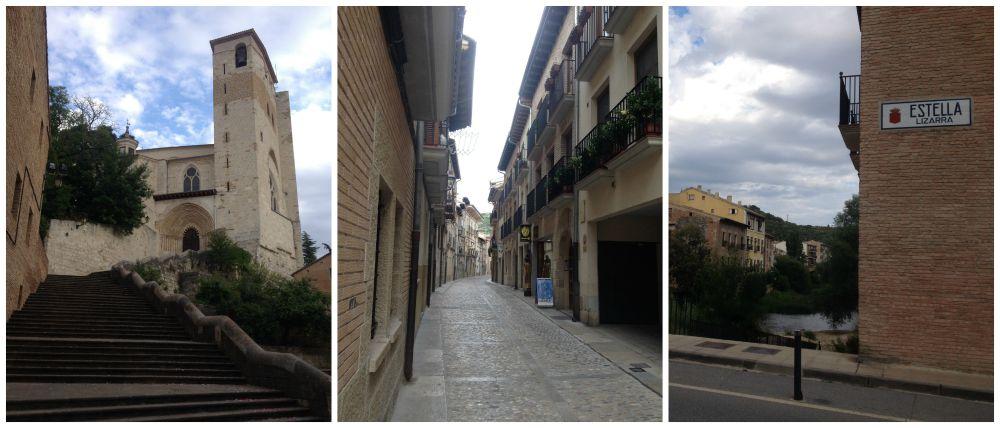 Estella - Lizarra on the Camino 2015