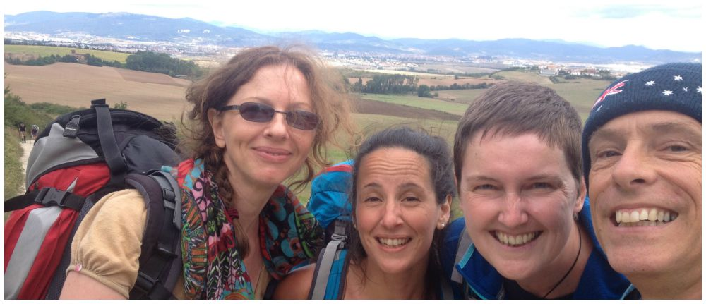 Friends on our Camino 2015