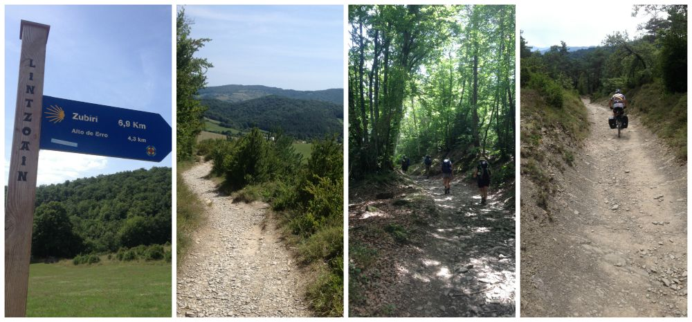 Lintzoain to Zubiri still 6.9 Km and 4.3 to Erro on the Camino 2015