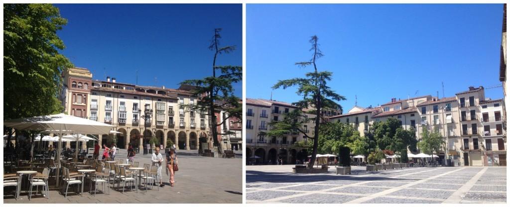 Logroño main square