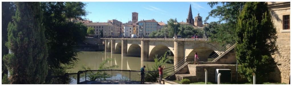 Logroño on the Camino route