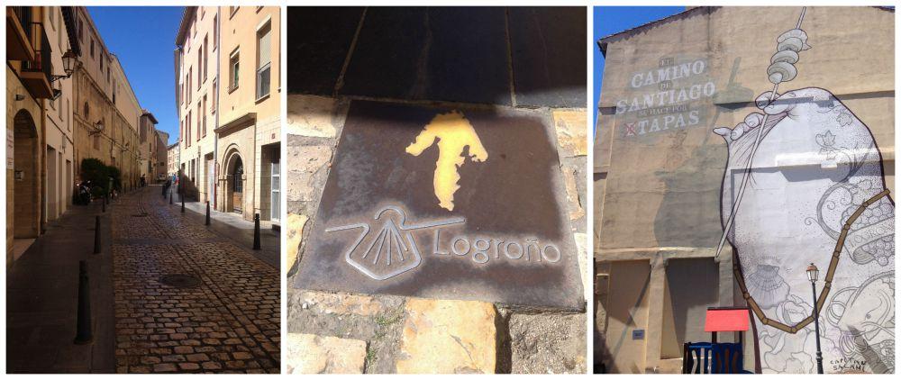 Logroño on the Camino way