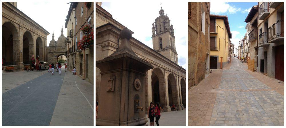 Los Arcos on the Camino 2015