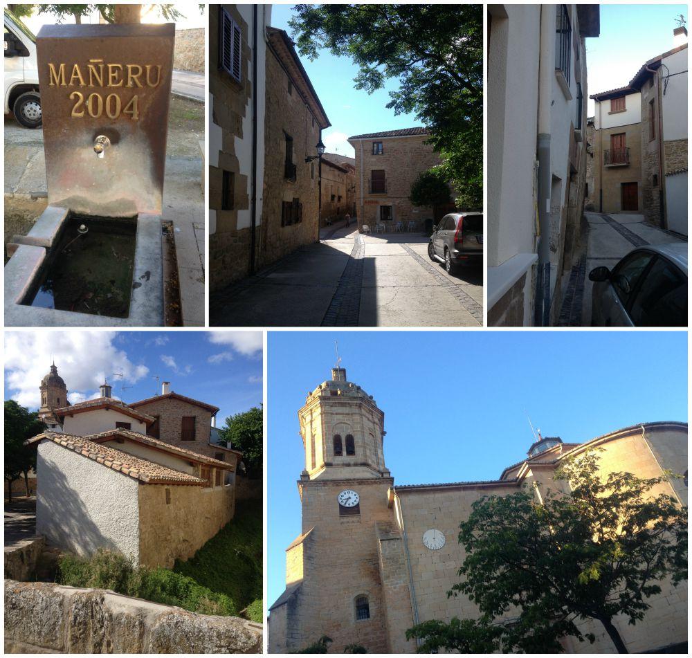 Mañeru on the Camino 2015