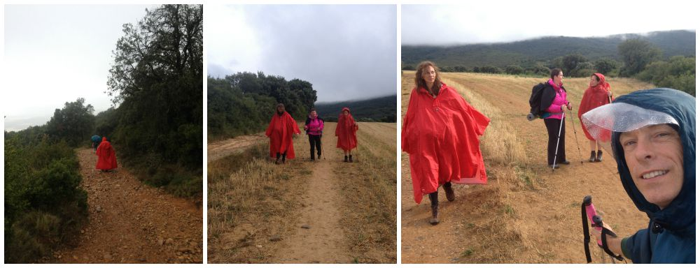 On the Camino with Inge & Cettina 2015