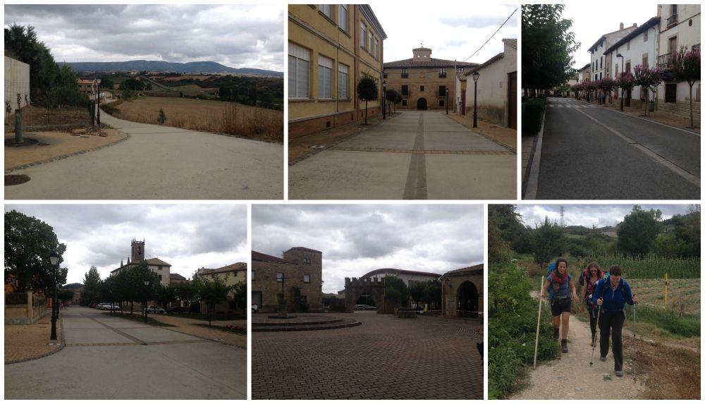 On the walk towards Puente La Reina on the Camino 2015.jpg