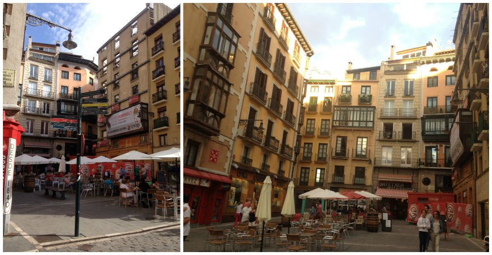 Pamplona area in front of the Townhall 2015