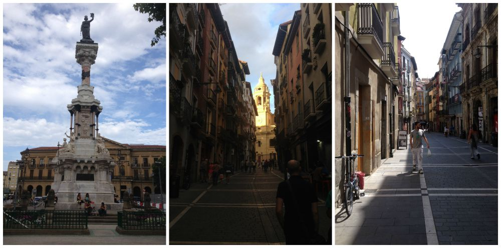 Pamplona images 2015 on the Camino
