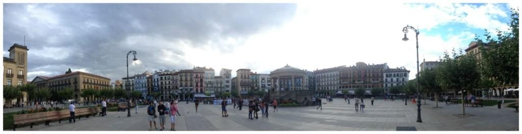 Pamplona main square