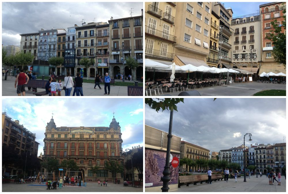 Pamplona on the Camino route 2015