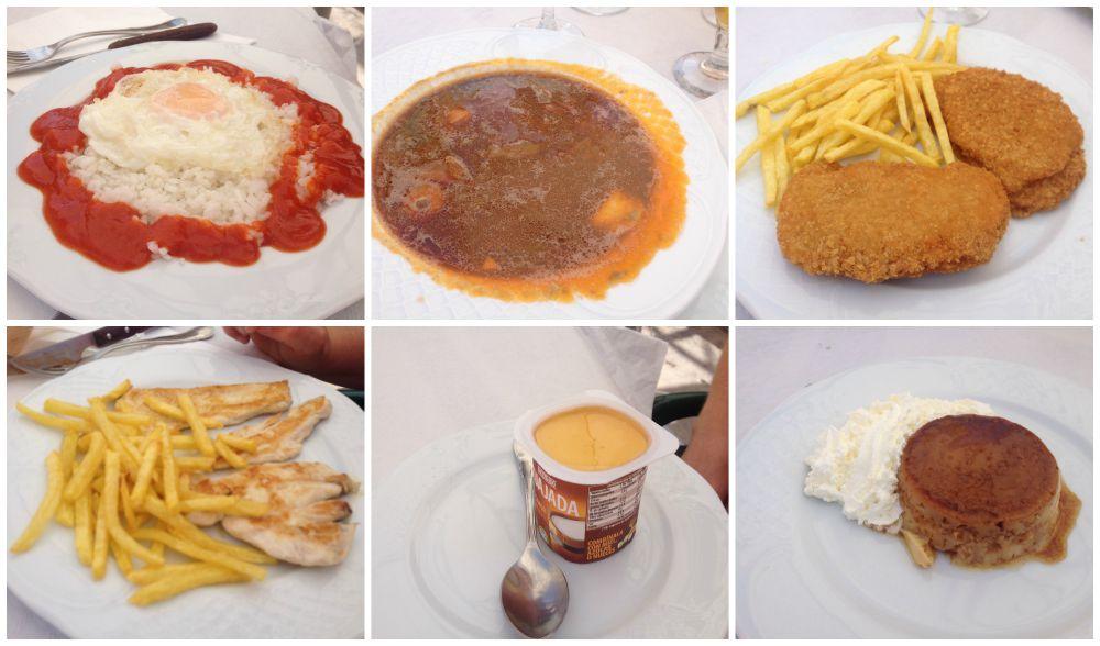 Pilgrim lunch in Azfora