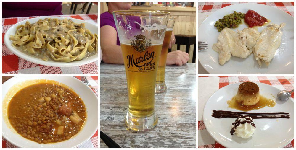 Pilgrim lunch in Viana