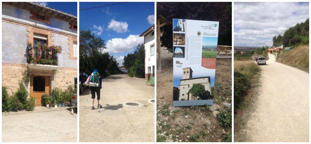 Reaching Belorado on the Camino today