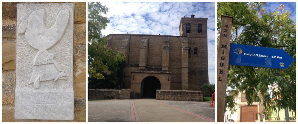 San Miguel on the Camino way 2015