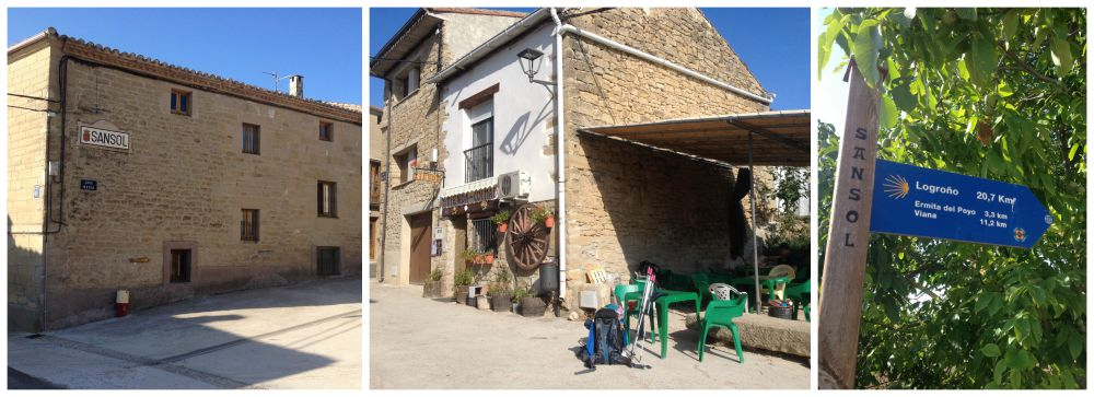 Sansol on the Camino way 2015