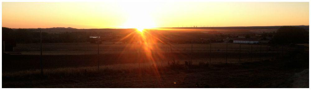 Sunrise over Atapucera