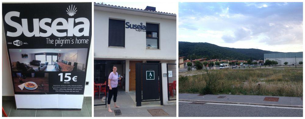 Suseia The pilgrim's home in Zubiri on the Camino 2015