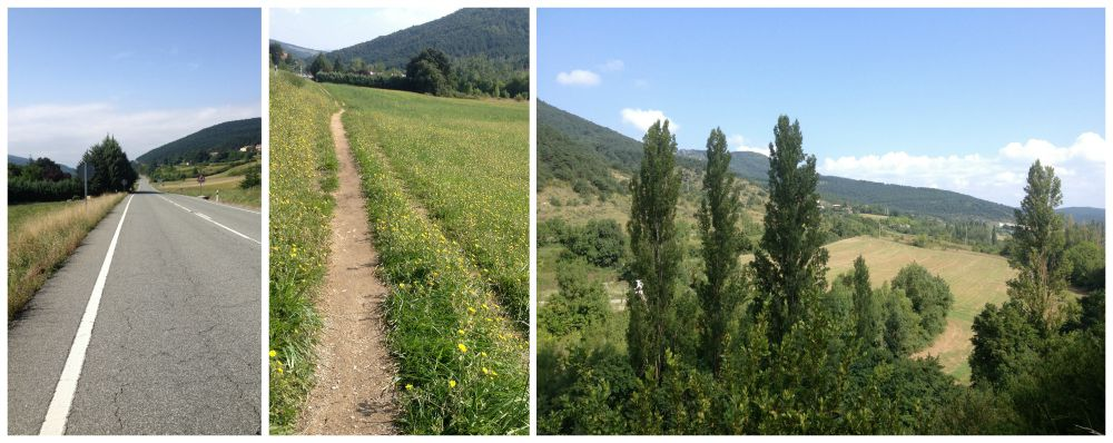 The Camino roads & paths 2015