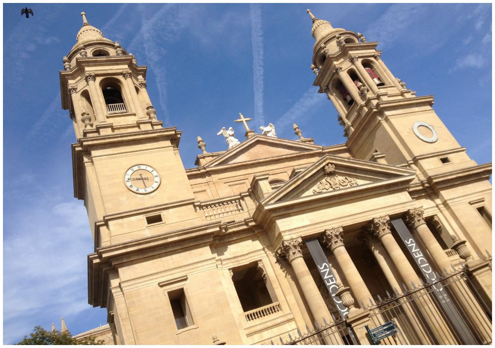 The Cathedral in Pamplona 2015