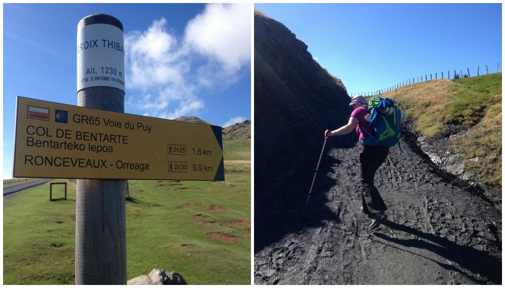 The walk to Roncesvalles on the Camino 2015