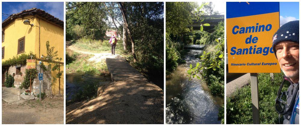 The walk to Villafranca on the Camino