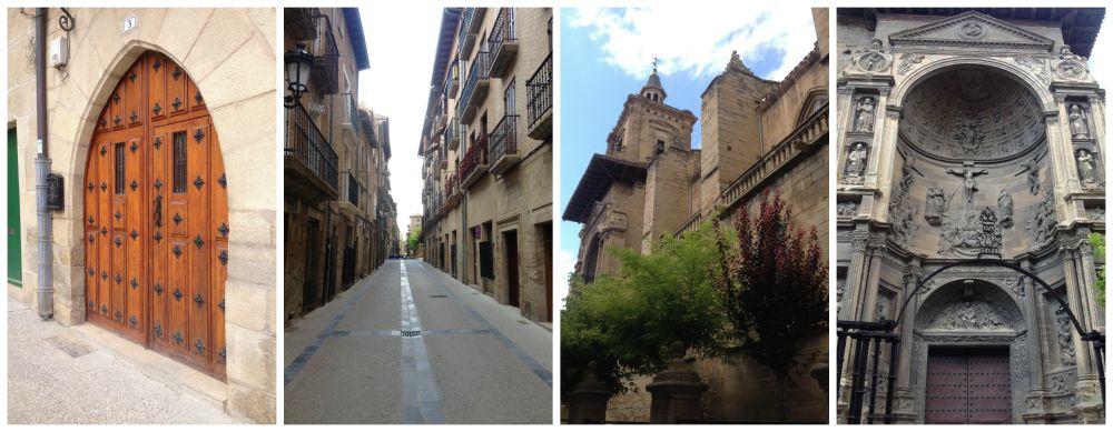 Viana on the Camino way