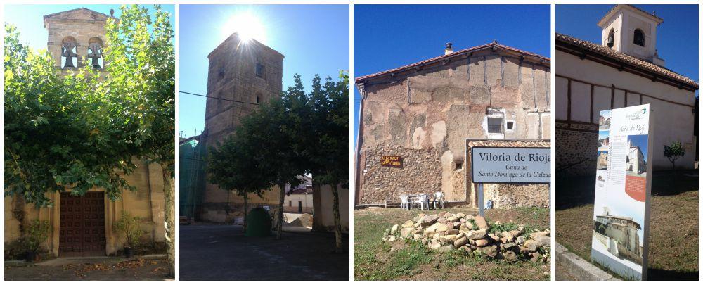 Viloria de la Rioja on the Camino