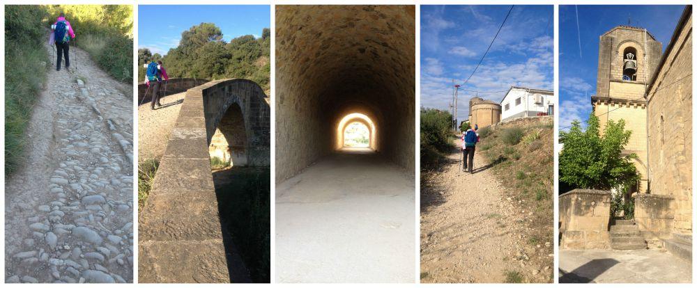 Walking the Camino between Lorca & Villatuerta