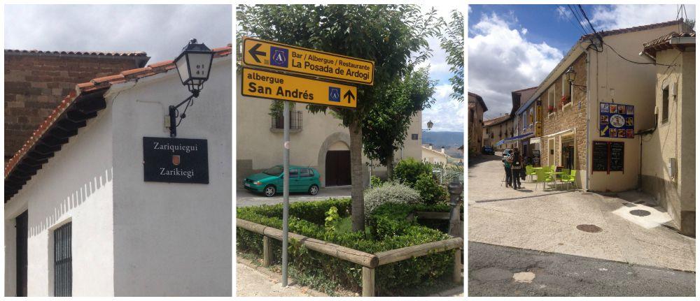 Zariquiegui, Albergue San Andrés on the Camino 2015