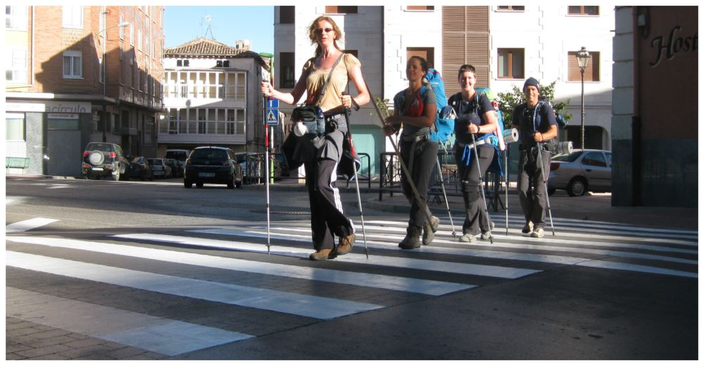 Abbey road - Camino style