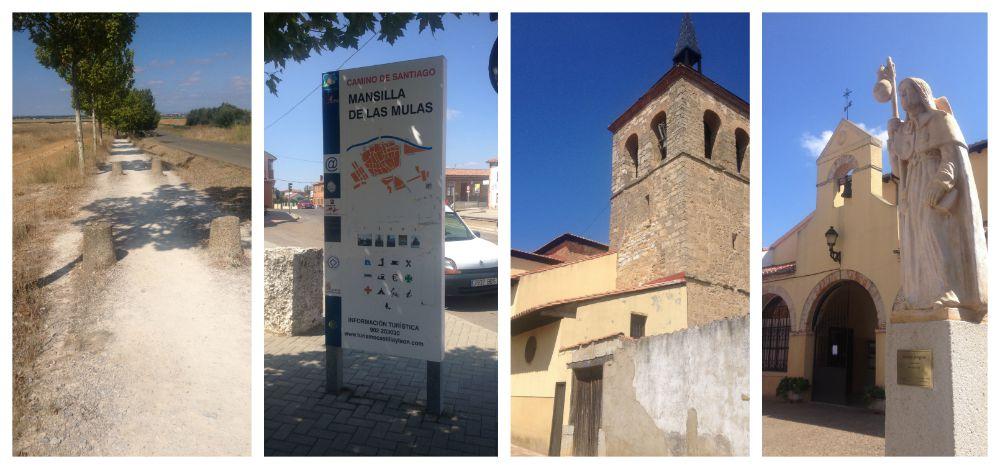 Arriving in Mansilla de las Mulas on the Camino