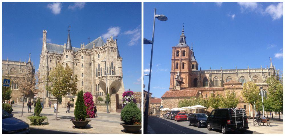 Astorga Church and buildings
