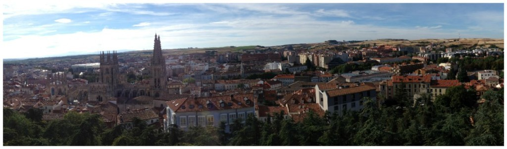 Burgos in Spain on the Camino
