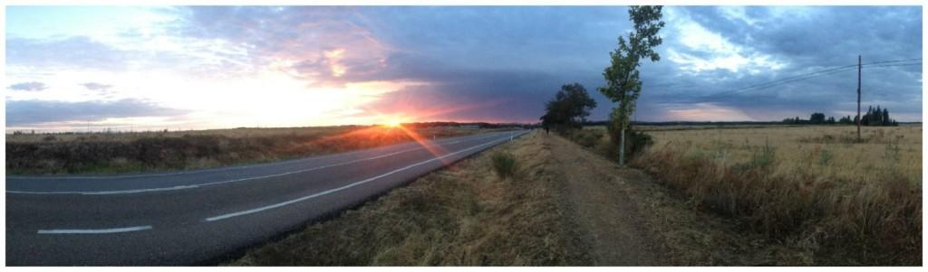 Camino sunrise 2015