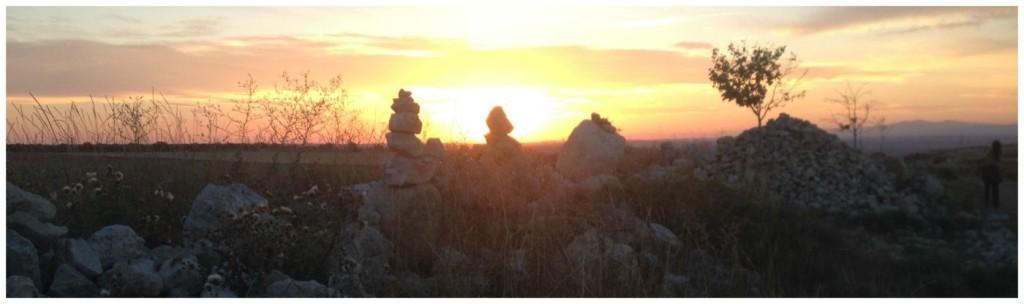 Camino sunrise on the way