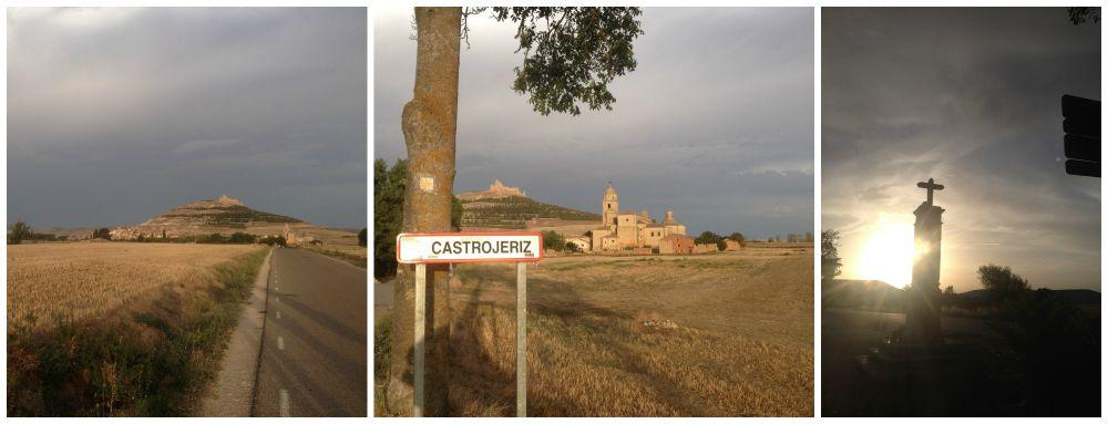 Castrojeriz on the Camino way