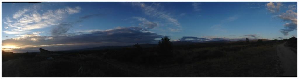 Dawn on the Camino de Santiago