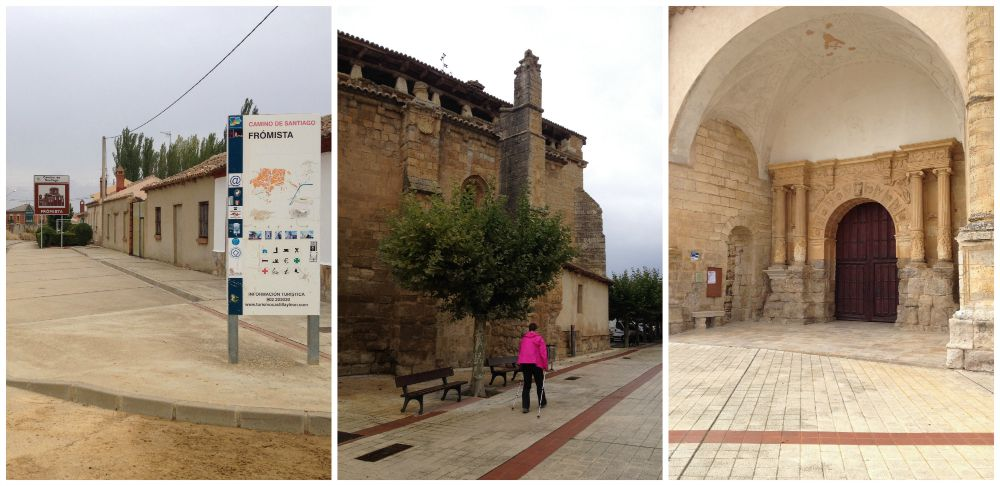 Fromista in Spain on the Camino