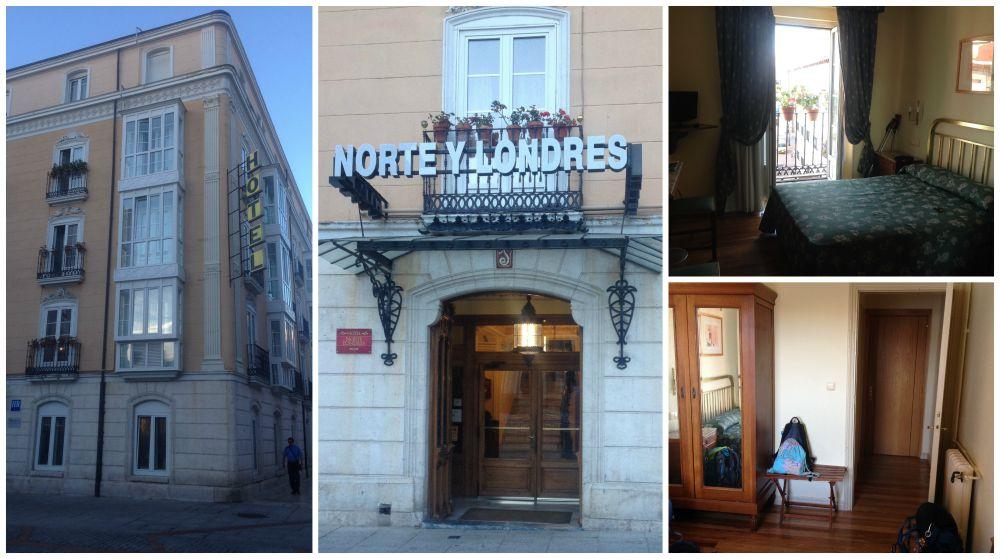 Hotel Norte y Londres in Burgos