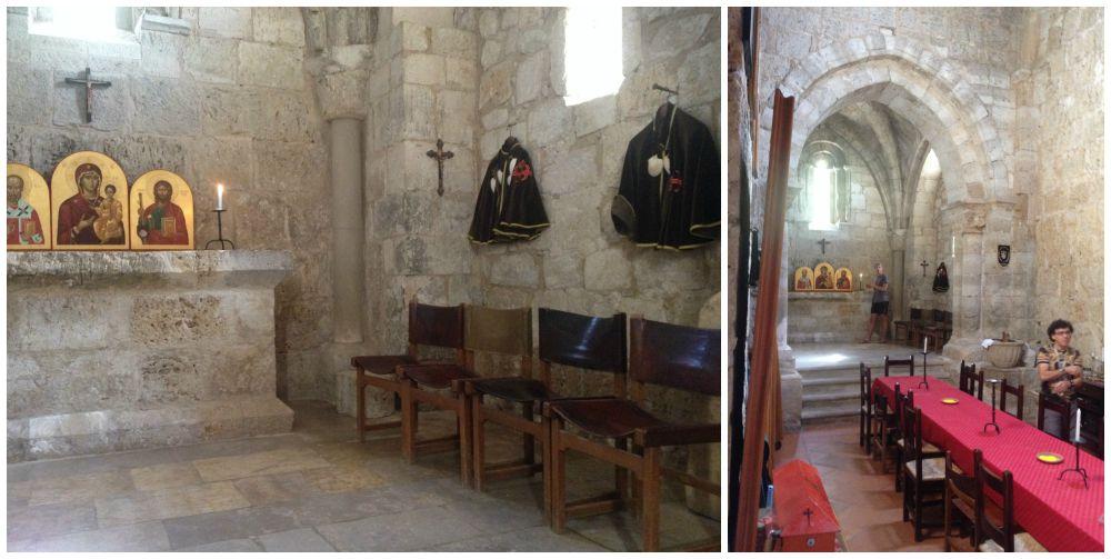 Inside the Chapel in Itero Del Castillo