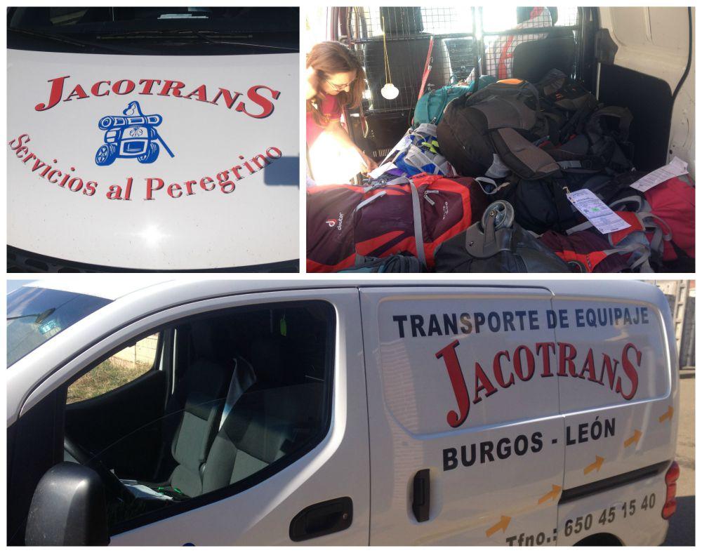 Jacotrans - bag forwarding service for peregrino