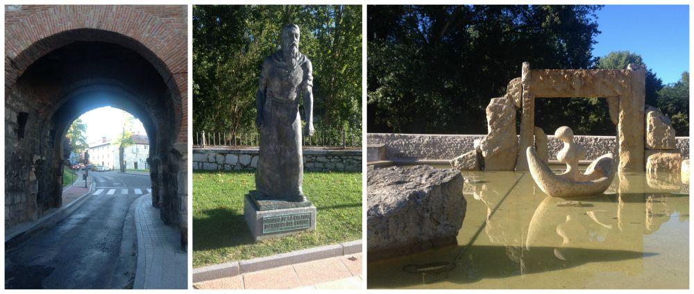 Leaving Burgos on the Camino