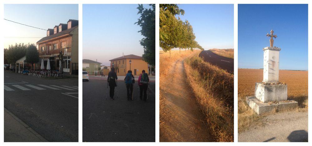 Leaving El Burgo Ranero on the way towards Mansila de las Mulas