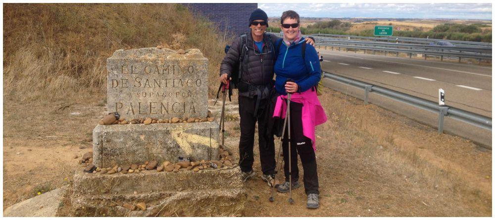 Leaving Palencia towards Leon