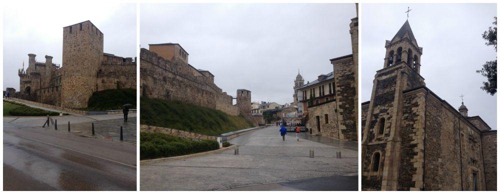 Ponferrada castle de Los Templarios