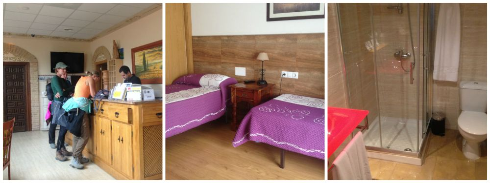 Private double or triple rooms in the Albergue Viatoris NOT in the dormitory