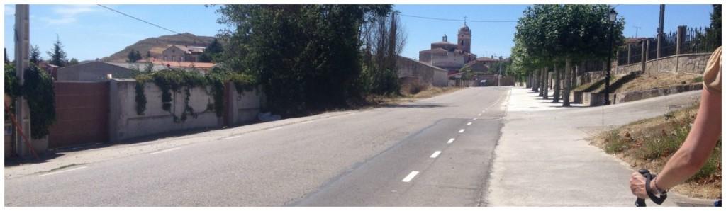 Rabe de Las Calzadas on the Camino